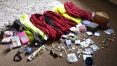 10 item's for £5 in Claire's accessories newport