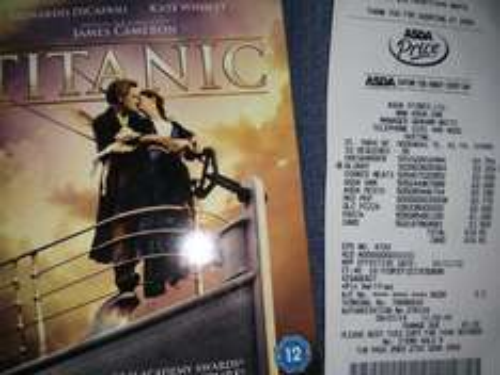 Titanic Special Edition 2 Disc Bluray £5 @ Asda instore