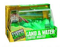 Backyard Safari Land and Water Lighted Habitat - £10 (FREE Click and Collect) or +£3.99 Delivery @ Debenhams