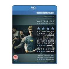 The Social Network (2 Discs) Bluray - £2.49 at Play/Zoverstocks, free delivery
