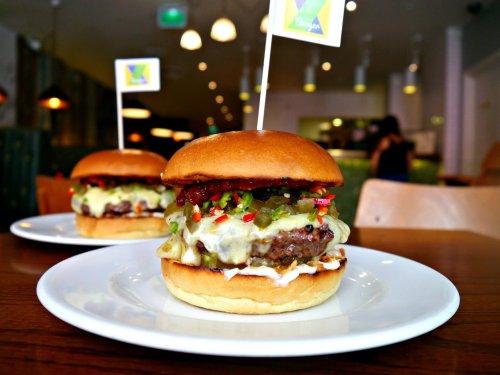 Got a Brazilian passport? - Get a  free burger at GBK today!