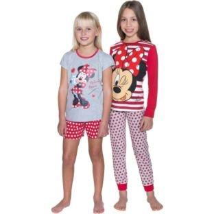 Disney Minnie Mouse Pyjamas 2 Pack from Argos £3.89