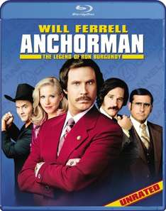 Anchorman:The legend of Ron Burgundy (2004) BLU-RAY £4.99 at base.com