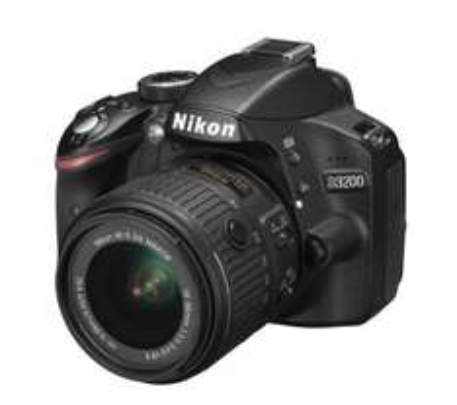 Nikon DSLR D3200 with VRII lens at Currys (Includes Nikon £30 cashback)  + possible 5% Quidco cashback