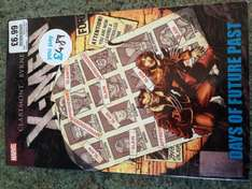 X-Men Days of Future Past Graphic Novel £4.89 @ HMV (Liverpool One)