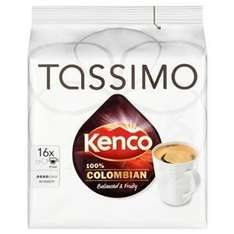 tassimo kenco colombian 80 discs at Amazon £15