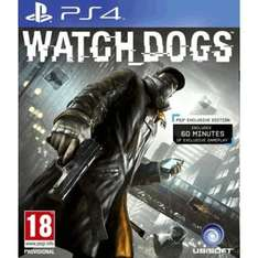 Watchdogs PS4 preowned 24hr deal £29.99 @ Games Centre