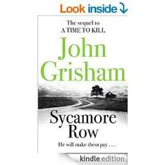 John Grisham Sycamore Row Kindle Edition £1.99 @ Amazon