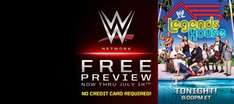 Free trial of WWE Network until Sunday (13.7.14), no card details required