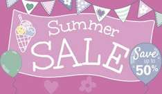Summer Sale Now On @ JoJo Maman Bebe,  Online & Instore, Free Delivery on all items.