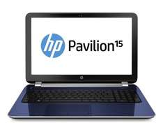 HP 15.6-inch Pavilion Notebook PC (Revolutionary Blue) £329.99 @ Amazon