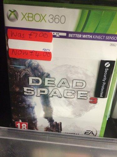 Dead Space 3 - Xbox 360 - £4 preowned @ Asda Farnborough