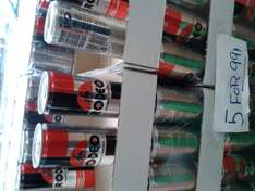 Rodeo Energy Drink 5 x 250ml Cans for 99p at Sams 99p Stores in Ilford High Street