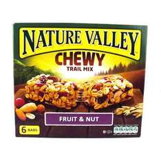 Nature valley fruit and nut £0.59 at Tesco