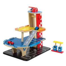 Buzzing Brains Wooden Garage Suitable from 3 years+ SKU: KC45127 £14.99 was: £49.99 @ Kiddicare