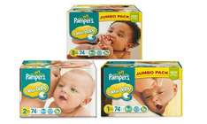 72 pampers £9.99 + £3.99 Delivery (£13.98) @ Groupon