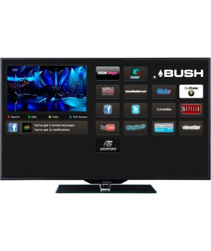 Bush 42 Inch Freeview HD Smart 3D LED TV (8 Pair Of Glasses, 2 USB, 2 HDMI) £319.99 @ Argos