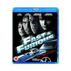 Fast And Furious (Blu Ray & Digital Copy) £1.99 Delivered @ Base Via Play.com
