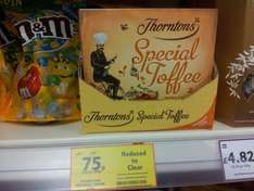 Thorntons Special Toffee Gift Box 300g was £4, now 75p in Tesco!