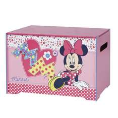 Minnie Mouse Toy Box -  @ Amazon £9.99! (Free delivery £10 spend / Prime / Locker)