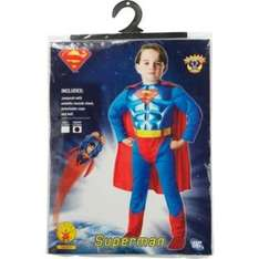Superman Dress Up Outfit - 5-6 ARGOS £6.99