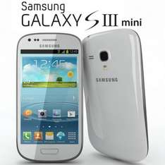 Samsung Galaxy S3 Mini ... (As new) White or Blue --- £89.99 Including £10 TopUp & Free Next Day Delivery @ Virgin Mobile Online