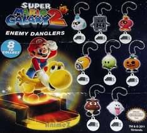 Nintendo Keyrings & Toys from £1.89 @ eBay: tempest_emporium / animezuk