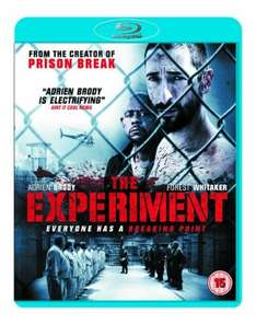 The Experiment on Blu Ray (new) for £2.99 delivered @ Grainger Games