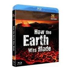 How The Earth Was Made (History Channel) Blu-Ray  @ Zoverstocks Via Play.com (New) -  £2.67 Delivered