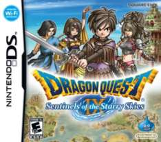 Dragon Quest IX: Sentinels of the Starry Skies NDS £4.99 @ Argos