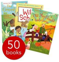 My First Reading Library - 50 Books (SLIPCASE) £25.50 delivered @ The Book People
