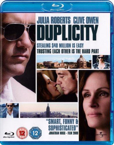 Duplicity (2009) BLU-RAY £1.69 at play/press play