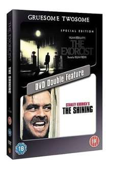 Used: The Exorcist/The Shining [DVD] [Dual Disc Format]* £1.67 @ Amazon (Zoverstocks)
