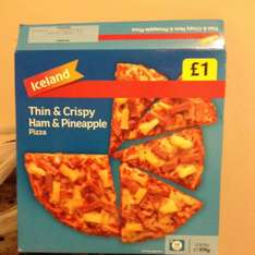 £1 pizzas reduced £0.89!!! @ Iceland