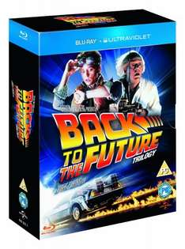 Back to the Future Trilogy BluRay £10.00 @  Amazon