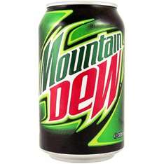 Buy a case (24 cans) of nice Mountain Dew, (not the horrid energy one), and get 24 CANS FREE at American Soda. £17.09 + £3.99 delivery