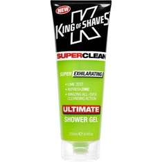 King of Shaves  Ultimate SHOWER Gel Lime Zest 250ML £0.99 in the 99p store