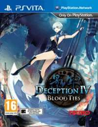 Deception IV: Blood Ties for PS Vita £14 @ Game