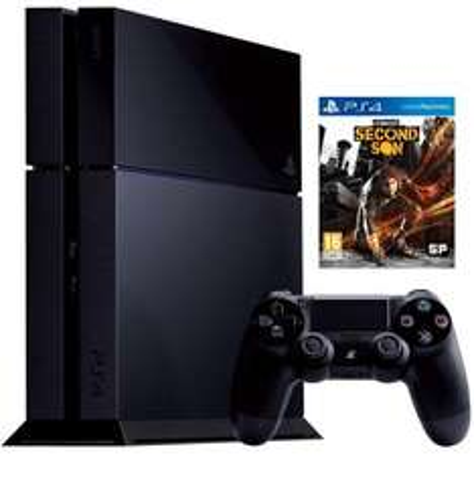 PS4 500g Console Bundle - Infamous Second Son £389.99 @ 24studio