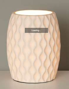 BHS Kirby white table lamp (was £40) Now £12 FREE click&collect!