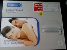 Aerobed Comfort Classic Raised Double+King reduced to clear £20 from £159.99 @ BHS (Monks Cross York)