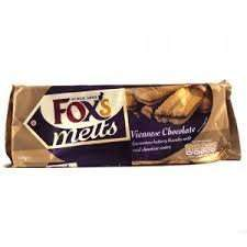 Fox's chocolate Viennese Sandwich biscuits 60p at Heron Foods