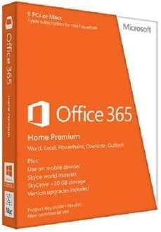 Microsoft Office 365 - Home Premium 1 year Subs - The Game Collection - £39.95 Back in Stock