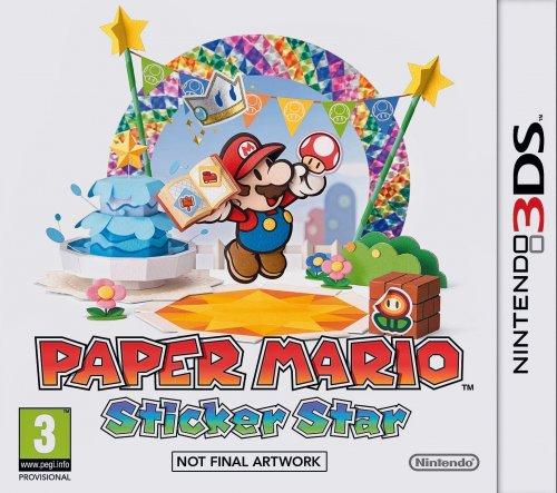 Paper Mario Sticker Star 3DS £19.99 @ Ebay Argos Outlet