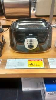Logic two slice Toaster £4.97 @ Curry IN STORE