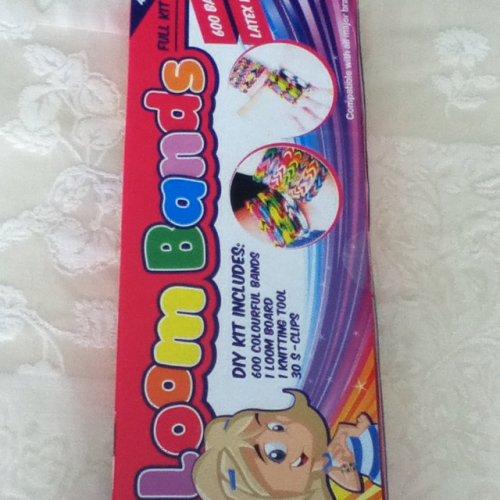 Loom band kits Home Bargain 99p