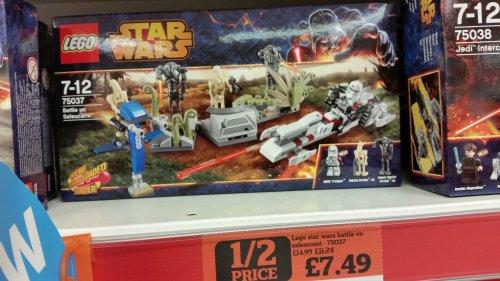 Lego Star Wars 75037 Battle on Saleucami Half Price £7.49 Sainsburys in Store Witney