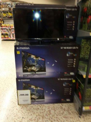 """emotion 32"""" LED tv only £194!! instore @ Tesco"""