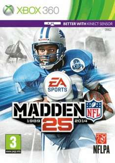 Madden 25 (360 & PS3) New @ Game for £15.00