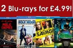 2 Blu Rays for £4.99 from Press Play @ play.com
